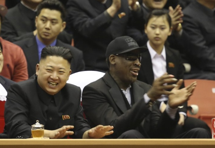 ". <p>10. (tie) DENNIS RODMAN  <p>Too busy promoting North Korean �basketball� to worry about its dying political prisoners. (2) <p><b><a href=\'http://articles.chicagotribune.com/2013-09-03/news/chi-dennis-rodman-north-korea-20130903_1_kenneth-bae-kim-jong-un-rason\' target=""_blank\""> HUH?</a></b> <p>    (AP Photo/VICE Media, Jason Mojica, File)"