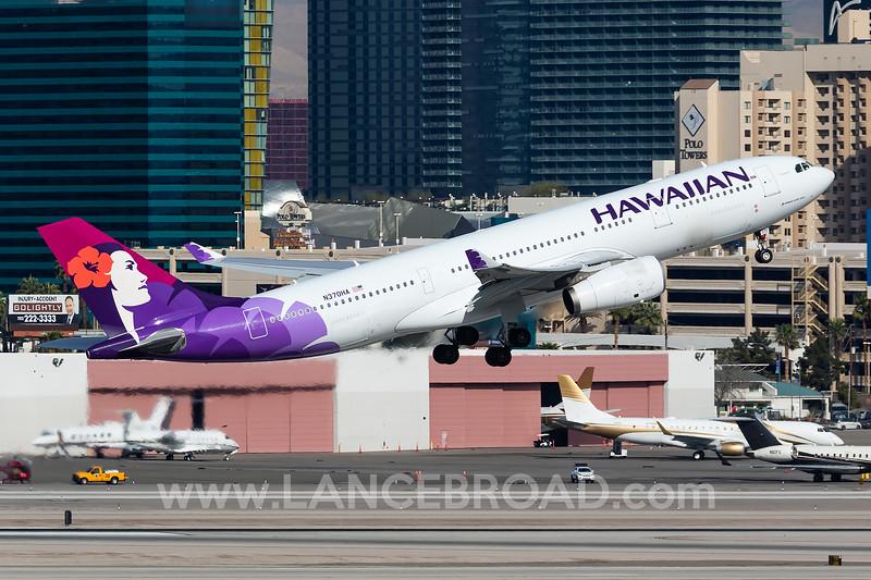 Hawaiian A330-200 - N370HA - LAS