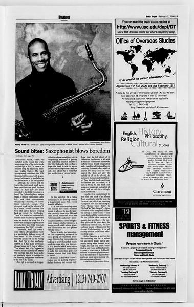 Daily Trojan, Vol. 139, No. 18, February 07, 2000