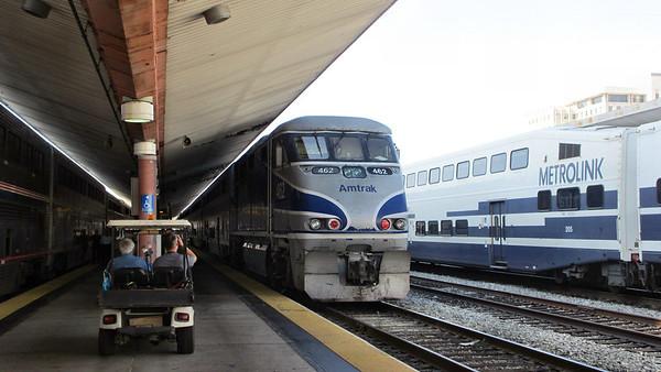 Amtrak Coast Starlight-Los Angeles to Portland