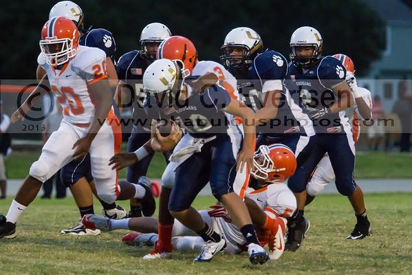 Boone Junior Varsity Football #43 - 2013