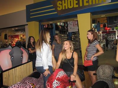 Girls at Arizona Mills-7-22-14