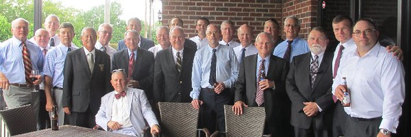 Class Gathering at Bill Saunders Wake