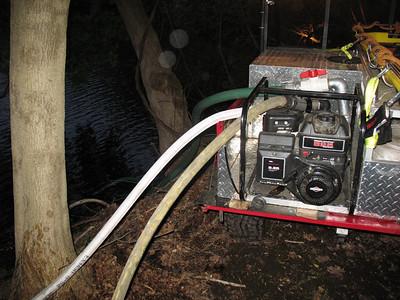 4-27-10 Live Burn Drill