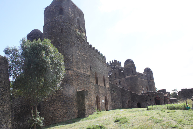 6 Gondar castles maybe built by Portuguese