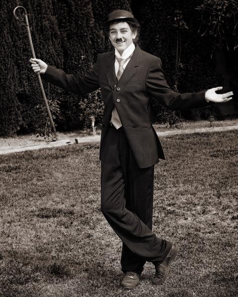 Charlie Chaplin visits us