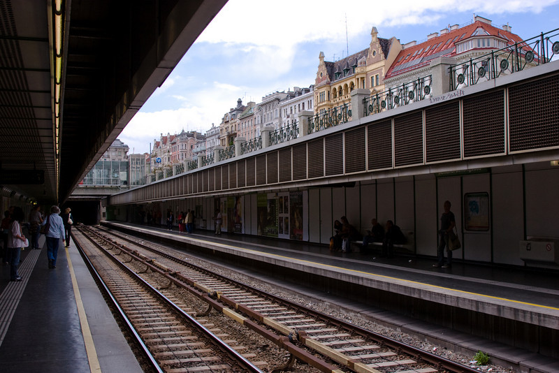 Subway and street view