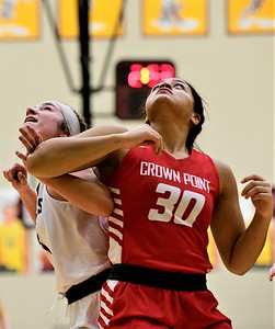 GIRLS BASKETBALL Sectionals Crown Point VS Lowell 2021