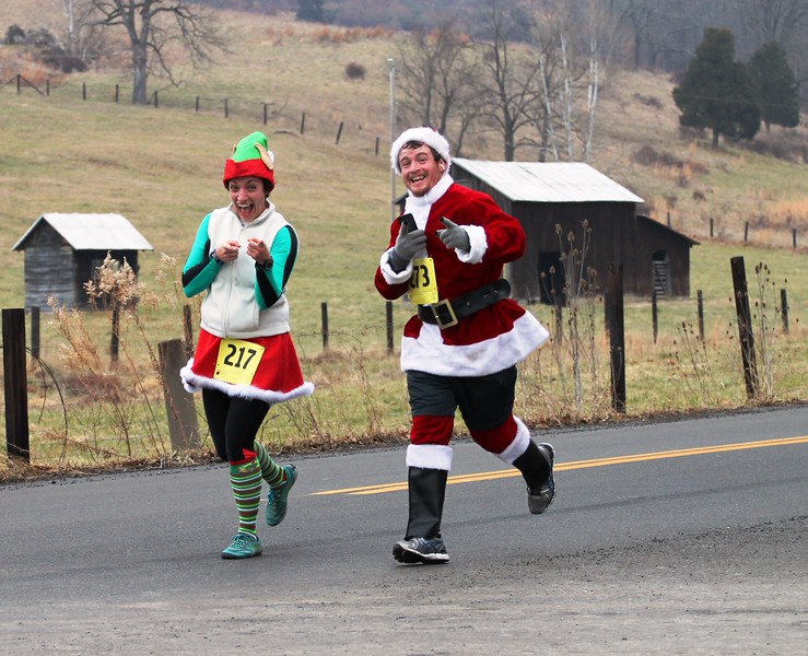 2013 Jingle 5K Run Fort Ashby, WV