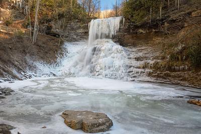 Cascades 8-9 January 2013