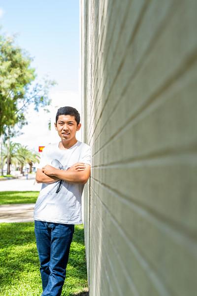 TAMU-CC student Hao Zheng