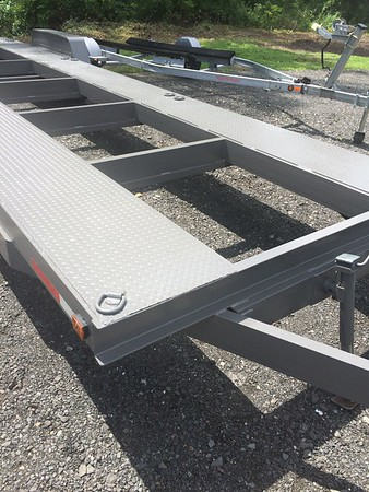Two car trailer for sale