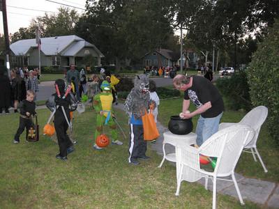 2012 Halloween in Downtown Bastrop