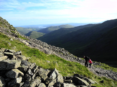 13k/8m hike from Hartsop along High Street with Jay & Ve - August 2012