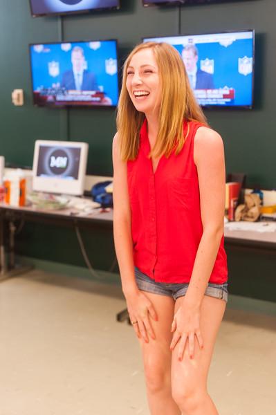 Mustang News 14-15 Staff. Sep. 19, 2014. Photo by Ian Billings