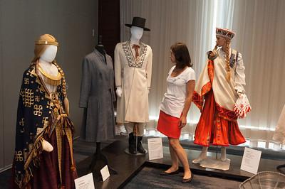 Art, Fashion, and Folk Costume Exhibit Opening