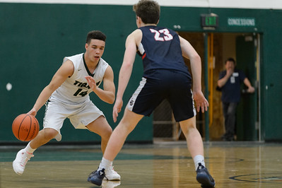 Tigard High School Boys Varsity Basketball vs Lake Oswego