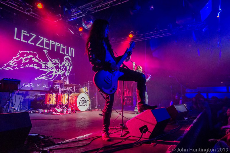 Lez Zeppelin at the Highline Ballroom, November 16, 2015