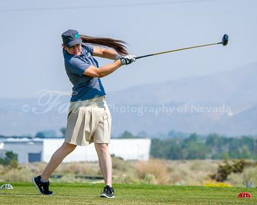 Sierra SAge in Smoke - North Valleys Girls Golf 2014