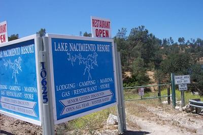 Lake Nacimiento 2005