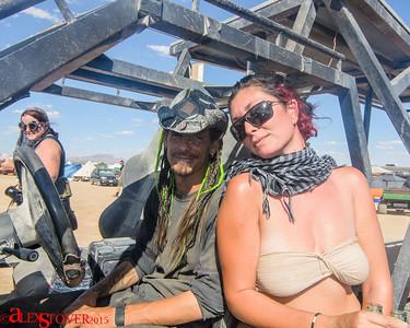 Wasteland Weekend 2015 - Ares and Spud Wedding