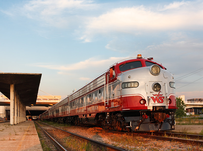 Wisconsin & Southern ABA Passenger Set - Milwaukee Intermodel Station