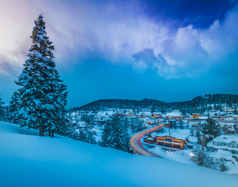 Downtown Truckee Winter