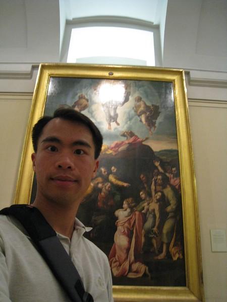 JC with prado painting