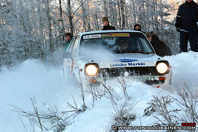 17.01.2009 | XXII Oulujärvi ralli, Kajaani