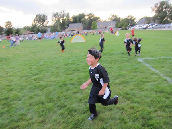 Black Ninja Soccer Team