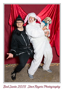 Bad Santa Costume Party 2018 Photobooth