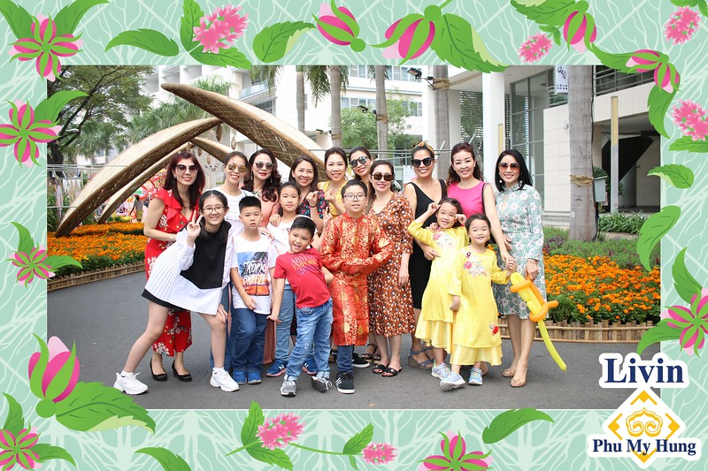 LivinPMH App Launching Photo Kiosk @ Phu My Hung Spring Flower Festival 2020   Kiosk in ảnh tự động từ DSLR & Mobile tại Sự kiện ra mắt ứng dụng LivinPMH   Fotokio