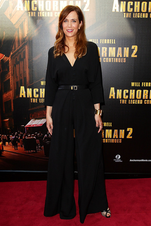 ". Kristen Wiig arrives at the ""Anchorman 2: The Legend Continues\"" Australian premiere at The Entertainment Quarter on November 24, 2013 in Sydney, Australia.  (Photo by Lisa Maree Williams/Getty Images)"