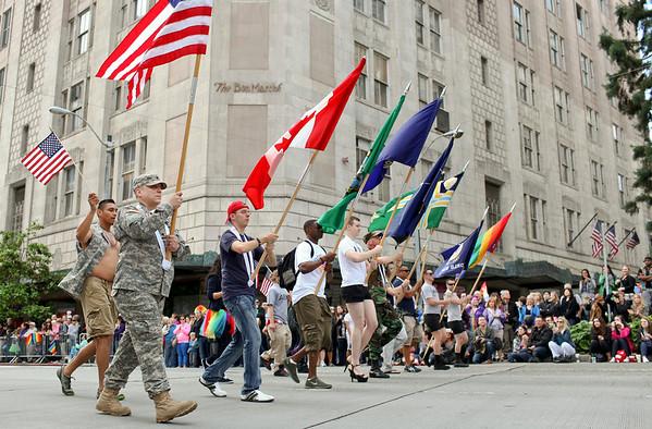 Seattle Pride Parade 2012