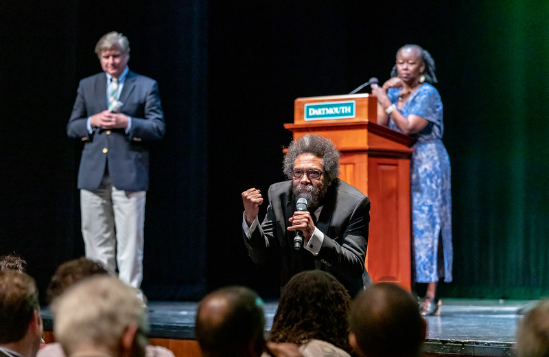 Philosopher, political activist, social critic, author, and public intellectual -- Dr. Cornel West is a force of nature and was a pleasure (and a challenge) to shot at the RaceMatters @ 25 conference at Dartmouth College.