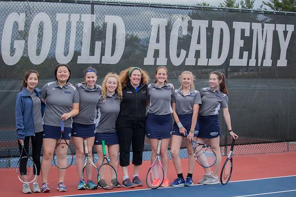 Tennis JV Girls 2017