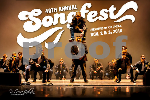 2018 Chi Omega Songfest