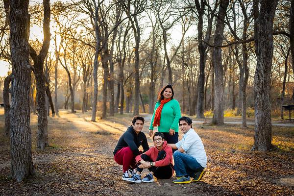 McKinney Falls State Park - Dipankar and Family