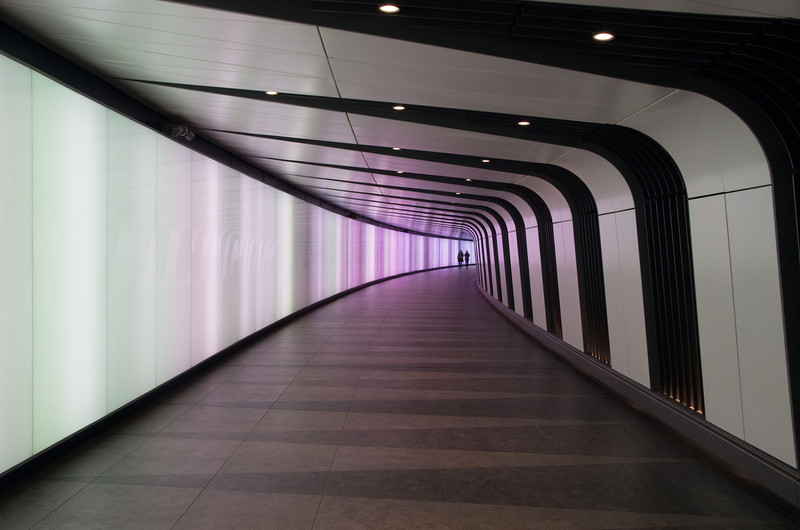 Tunnel between St Pancras and King's Cross