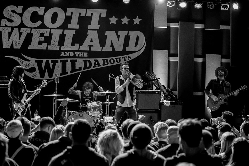 Scott Weiland at the World Cafe in Philly
