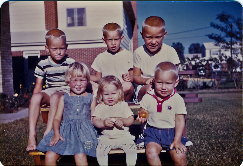 MARK,CRAIG,DANA,LYNN,JOY & SCOTT 1961