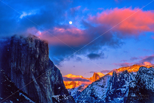 Color Photographs of Yosemite National Park