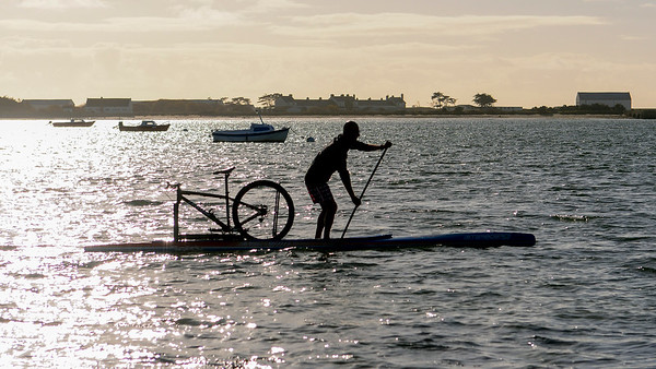 2015 Dec 09 - SUP & Bike with Starboard