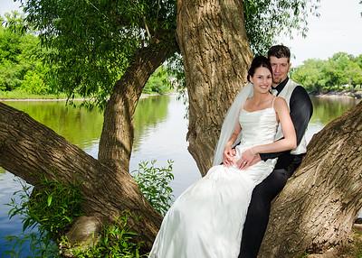 Josh and Wendy Wiskus Wedding
