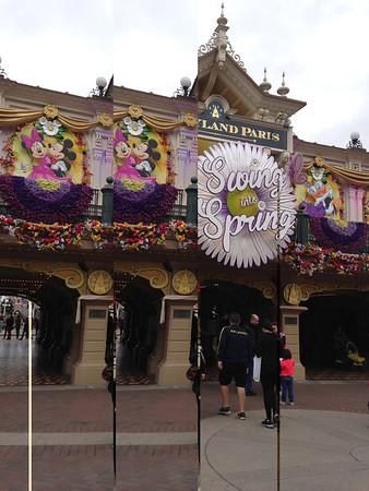 2014: Parc Disneyland