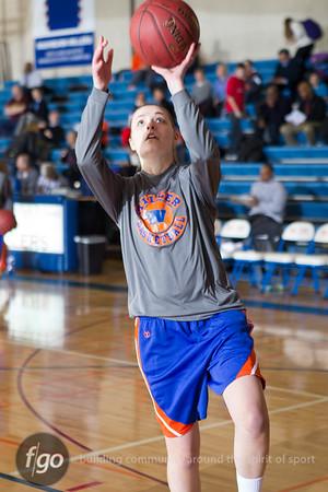 2-19-13 Minneapolis Roosevelt v Minneapolis Washburn Girls Basketball