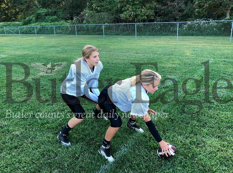 Girl Football Players