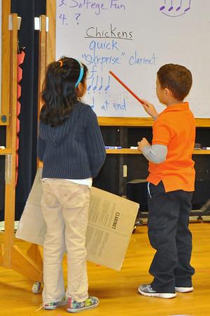 First Graders Teach a Music Class