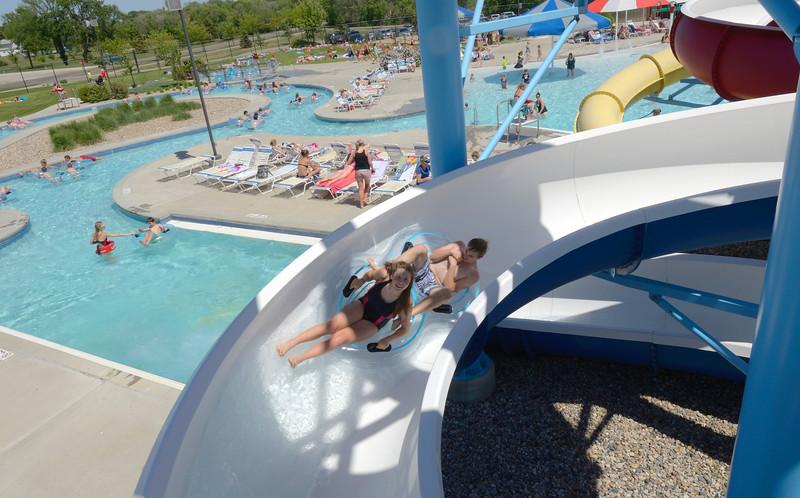 tube slide at aberdeen aquatic center