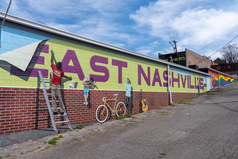Street art in East Nashville